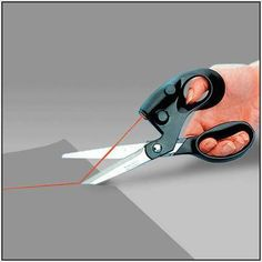 Buy Household Sewing Laser Scissors Cuts Straight Fast Accuracy Laser Guided Shears at Wish - Shopping Made Fun Sewing Basics, Sewing For Beginners, Sewing Hacks, Sewing Crafts, Sewing Ideas, Sewing Projects, Craft Projects, Sewing Patterns, Fabric Crafts