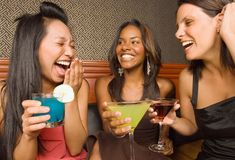 MYTH: Hangovers Are Gender-Blind  FACT: Don't go crazy with free drinks on Ladies' Night. If a man and woman drink the same amount, the woman is more likely to feel the effects. That's because men have a higher percentage of water in their bodies, which helps dilute the alcohol they drink. When women drink the same amount, more alcohol builds up in the bloodstream.