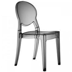 dettagli su sedia polipropilene impilabile grand soleil design