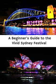 Vivid Sydney Festival is my favourite time of year to be in Sydney. Check out my tips for having the best night possible. Festivals Around The World, Travel Around The World, Sydney Australia, Australia Travel, Western Australia, Visit Sydney, Travel Info, Travel Guides, Travel Tips