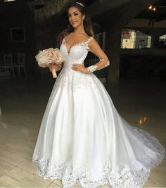 Wedding Dress With Veil, Dream Wedding Dresses, Ball Gown Dresses, Special Occasion Dresses, Wedding Styles, Beautiful Dresses, Marie, To My Daughter, Wedding Day
