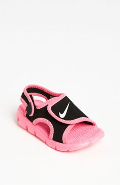 Nike 'Sunray Adjust 4' Sandal (Baby, Walker & Toddler) available at #Nordstrom