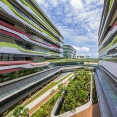 UNStudio completes first two buildings for new Singapore university campus