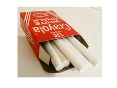 Vintage Crayola Chalk White by ClearlyRustic on Etsy, $5.00