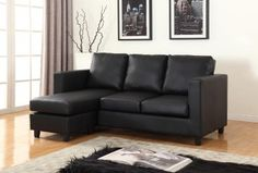 FREE Basic Delivery in Canada! Newport Espresso Small Condo Apartment Sized Sectional Sofa with Reversible Chaise . Order the best cheap Eco Leather couch online for your living room. Small Sectional Sofa, Sofa Set, Buy Furniture Online, Wholesale Furniture, Condo Furniture, Living Room Furniture, Sofa Design, Interior Design, Small Condo
