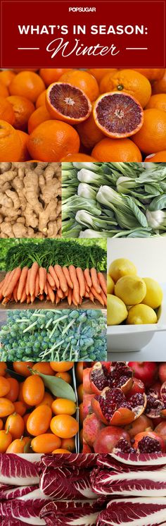 Winter Seasonal Produce Guide
