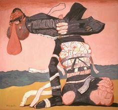 """Philip Guston, """"San Clemente"""" on ArtStack #philip-guston #art"""