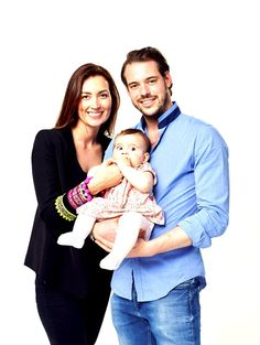 ready4royalty:  Princess Claire and Prince Felix with baby Princess Amalia, who will turn 1 year-old on June 15, 2015