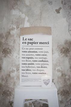 the bag merci
