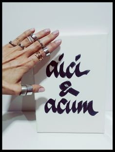 #aici & #acum  #acrylic #pen on #paper #gold #rings and #diamonds