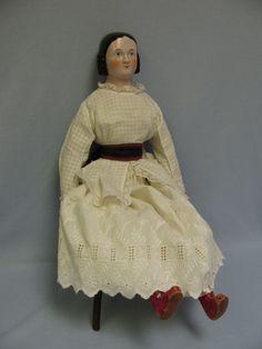"1845 - 22"" Pink tint - Kestner - Sophia Smith china"