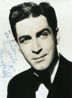 Dermot Walsh, Irish film/theatre actor of the 1940's-50's.  Great hair!