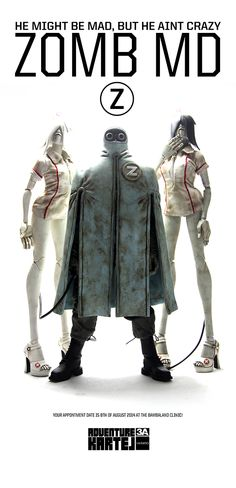 August 8th at www.bambalandstore.com 1/6th scale ZOMB MD AND ALBINO NURSE SET ( AKLUB ): $280 1/6th scale BLACK ROSE ZOMB NURSE ( NOT AKLUB ): $120 AKLUB releases are for everyone and NOT 3AA only. #threeA #AshleyWood