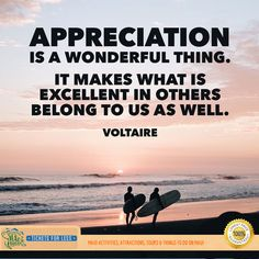 Appreciation is a wonderful thing it makes what is excellent in others belong to us as well.