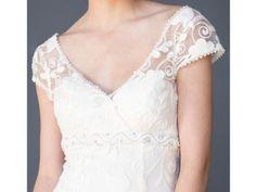 Fair Trade Garden Wedding Dress With Fabulous Lace Details!! | Green Bride Guide