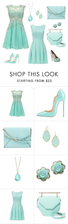 """Untitled #8"" by polina-deleva ❤ liked on Polyvore featuring Kate Spade, BaubleBar, Michael Valitutti, M2Malletier and Truth or Dare"