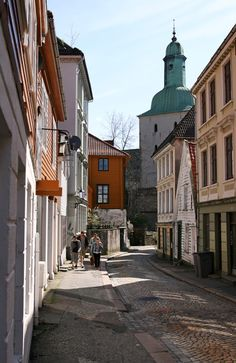 Bergen: I have been here and this street is so pretty