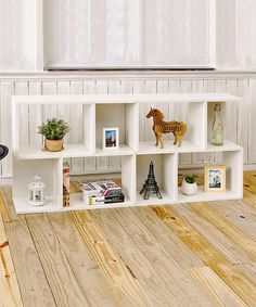 Look what I found on #zulily! White Double Soho Bookcase #zulilyfinds