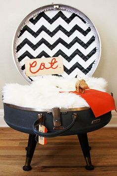 39 Creative Ways Of Reusing Vintage Suitcases For Home Decor | DigsDigs