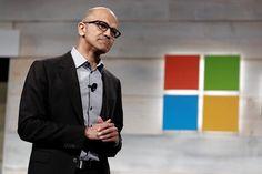 Satya Nadella, who on Wednesday marks his first anniversary at Microsoft's CEO, has charmed Silicon Valley through energetic personal diplomacy and fostered a new willingness to learn from and work with outsiders.
