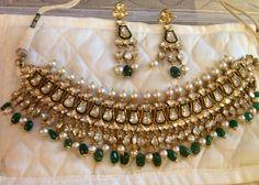 Photo From Bridal uncut diamond/ polki sets - By Sitara Kundan Jewellery Set, Indian Jewelry Sets, Indian Wedding Jewelry, India Jewelry, Bridal Jewelry, Indian Accessories, Diamond Jewellery, Vintage Jewellery, Diamond Rings