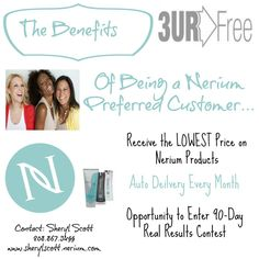 Do you LOVE your #skincare routine? Are you receiving #benefits with your real results? http://sherylscott.nerium.com #TheBenefits #Skincare