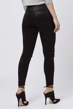 Photo 3 of MOTO Black Velvet Joni Jeans