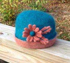 Needle Felted Hat