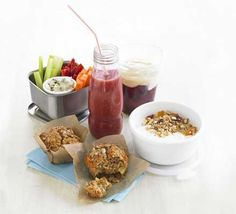 Keep hunger pangs at bay with these healthy, yummy lunchbox nibbles