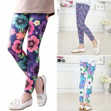 Buy Kids Girls Cute Leggings Pants Flower Floral Printed Elastic Long Trousers at Wish - Shopping Made Fun Baby Girl Leggings, Cute Leggings, Leggings Are Not Pants, Floral Print Pants, Printed Pants, Trouser Outfits, Kids Pants, Kids Girls, Baby Kids