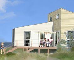 Slaapstrandhuisje | Roompot Beach Houses - Kamperland Zeeland