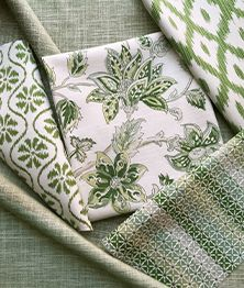 Marie Print - Leaf | Kravet Fabric Decor, Fabric Design, Vine Charcoal, Thom Filicia, Candice Olson, Green Home Decor, Cole And Son, Fabric Houses, Green Rooms