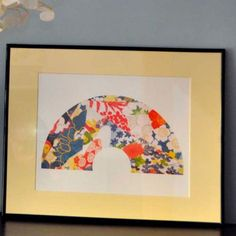 Looking for something completely different yet beautiful and stylish? Framed Vintage Kimono Prints Are Perfect £30.00