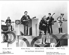 Publicity picture of Buffalo Springfield.....