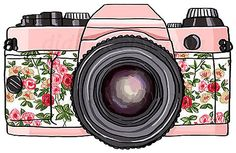 Floral Camera by Mgreenlee15