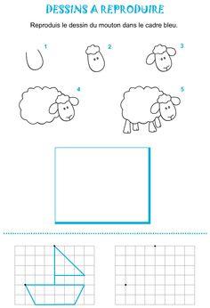 Comment dessiner des tas de poissons mer poissons eau - Mouton a dessiner ...