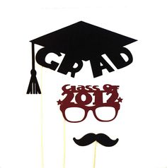 Graduation Party Photo Booth Props