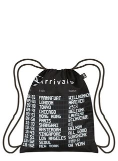 LOQI AIRPORT Collection - Arrivals   Departures Backpack Divat ff8aa7435b