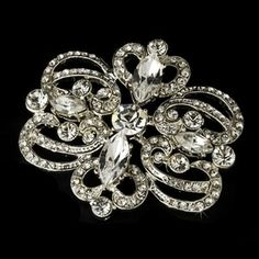 Silver Plated Vintage Look Bridal Brooch Vintage Looks, Silver Plate, Vintage Inspired, Plating, Brooch, Bridal, Inspiration, Jewelry, Fashion
