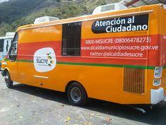 Rotulación Autobus atención al ciudadano Alcaldía de Sucre