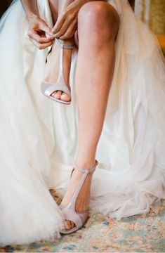Bridal Shoes photo // Scarpe sposa