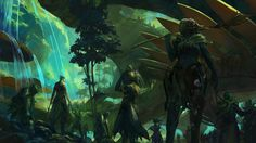 Guild Wars 2 The Grove by Artfall on DeviantArt