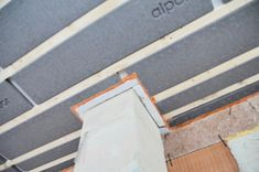 Kamineinfassung mit Ytong (in Österreich), luftdicht eingeschäumt Montage, New Construction