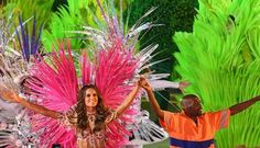 Spellbound Pictures with Closing ceremony RIO 2016 Olympics. Brazilian model Izabel Goulart was one of those involved  www.viralmp4.com