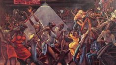 "Marvin Gaye - I Want You (1976) My favorite Marvin Gaye song and I love the album cover.  The artist is Ernie Barnes who's work has been featured on my fav tv show, ""Good Times."""