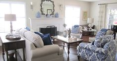 This Southern California client needed help finishing   the décor of her living room.     She lives north of Los Angeles and factoring ...