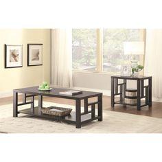Coaster Furniture 703538 Coffee Table in Cappuccino