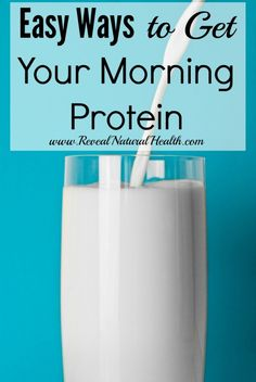 Do you struggle with providing a nutritious breakfast for your family every day? Many nutrition experts now recommend getting 25-30 grams of protein before noon, but that is actually easier than I thought.
