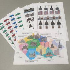 Produkt - Krajská města - Celoroční hra