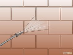 How to stain bricks